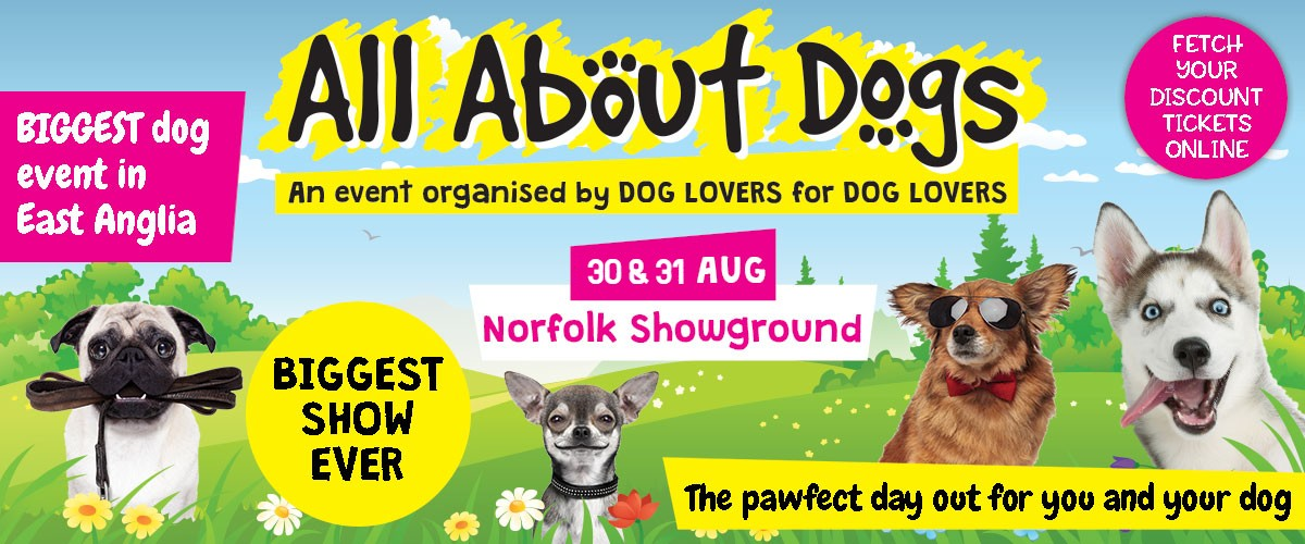 Dog Show Winner 2020.Norfolk All About Dogs Shows